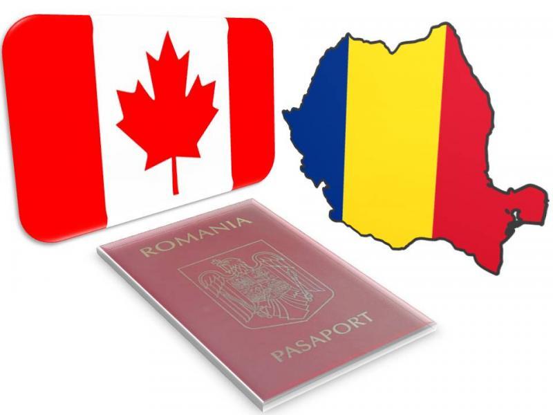 Canada elimină parţial vizele pentru români, începând cu 1 Decembrie