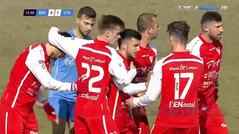 UTA reuşeşte o victorie de moral! Dacia Unirea Brăila – UTA 3 – 4