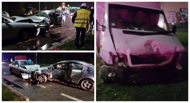 Trei autoturisme implicate într-un accident pe Calea Zimandului!