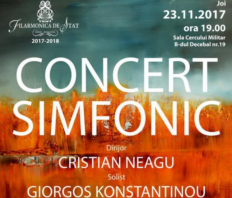 Concertul pianistului grec GIORGOS KONSTANTINOU la filarmonica din Arad