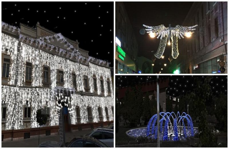 Iluminatul festiv, extins pe mai multe străzi din municipiul Arad. Află când vor fi inaugurate decoraţiunile de iarnă