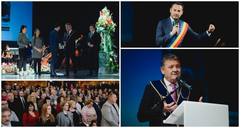 Aradul, capitala politică a Marii Uniri: Lansarea programului oficial a Centenarului 1918 - 2018 la Teatrul Clasic Ioan Slavici din Arad