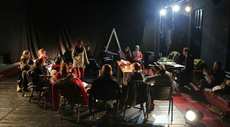 """Actorii arădeni au început lucrul la o nouă producție: """"Don Juan se întoarce de la război"""" de Ödön von Horvath"""