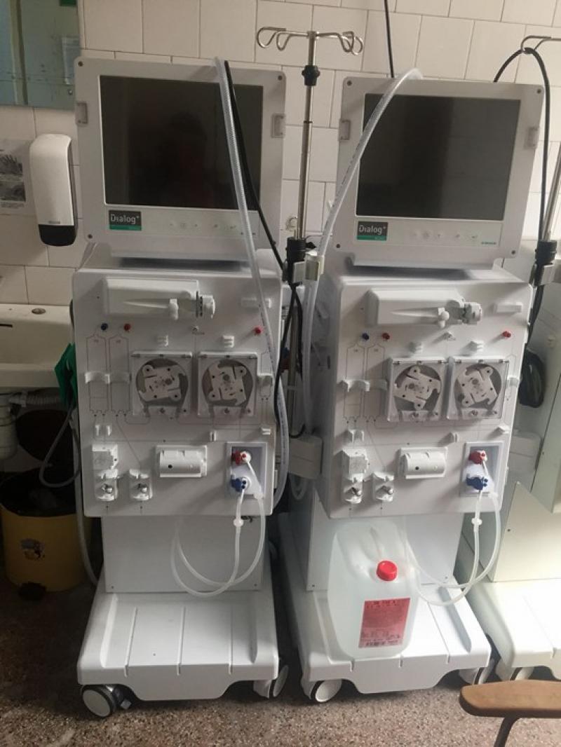 Primăria a cumpărat Stație de Hemodializă pentru Spitalul Clinic Județean de Urgență Arad. Valoarea aparaturii se ridică la 200.000 de lei
