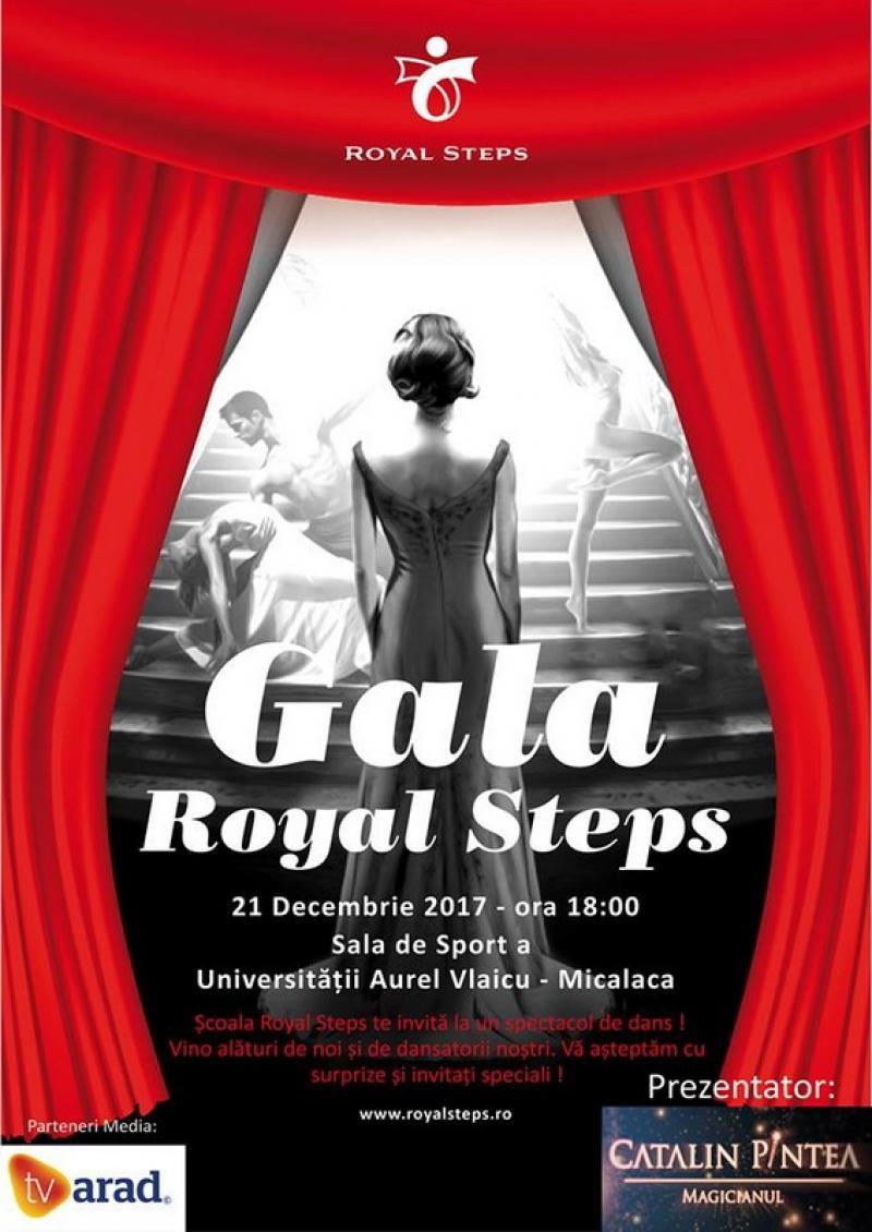 A şaptea ediţie a Galei Royal Steps va avea loc pe 21 Decembrie