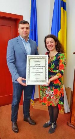 Georgiana Bighescu, o arădeancă cu care ne mândrim