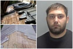 El este românul arestat în Marea Britanie pentru că a furat tabla de pe o Biserică veche de 800 de ani