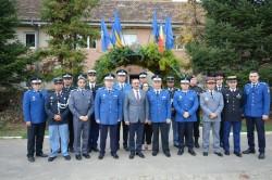 Inspectoratul de Jandarmi Județean Arad vizitat de ofițerii Cursului Superior Internațional