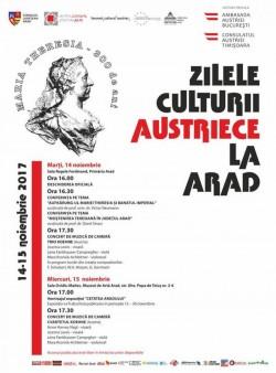 Zilele Culturii Austriece la Arad