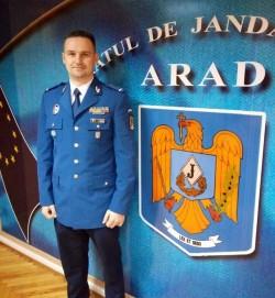 Inspectoratul de Jandarmi Județean Arad are un nou purtător de cuvânt