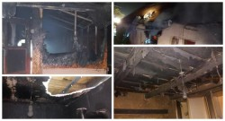 Incendiu luni seara la o casă din Curtici