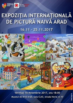 Expoziţie internaţională de pictură naivă în sala Clio