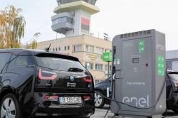 Aeroportul din Timișoara este primul din țară,care are stație de încărcare a autoturismelor electrice
