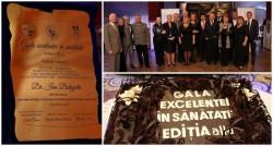 Gala Excelenței arădene în Sănătate, ediţia a 2-a