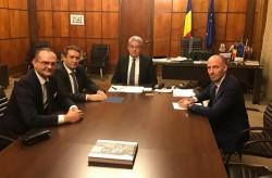 Waldemar Steimer a reprezentat Aradul la întâlnirea cu premierul României