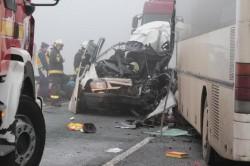 Accident mortal la Szolnok în Ungaria! Trei români morţi şi cinci răniţi!