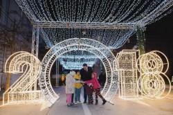 Magia sărbătorilor de iarnă a cuprins Aradul