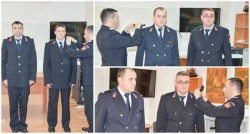 Avansări în grad la ISU Arad de 1 Decembrie