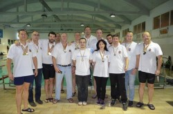 Salbă de medalii la un nou concurs de masters