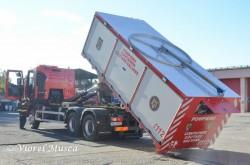 Container de căutare salvare pentru intervenţii complexe şi de lungă durată intrat în dotarea ISU Arad