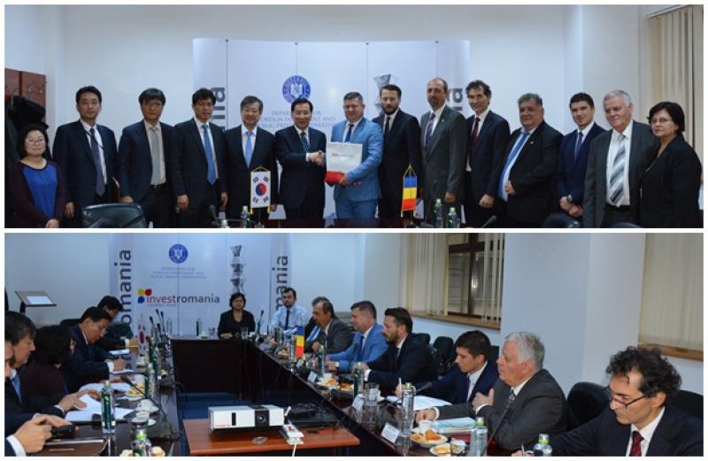 Confederaţia Patronatelor Române din Arad, invitată la o întâlnire privind cooperarea economică Româno-Coreeană
