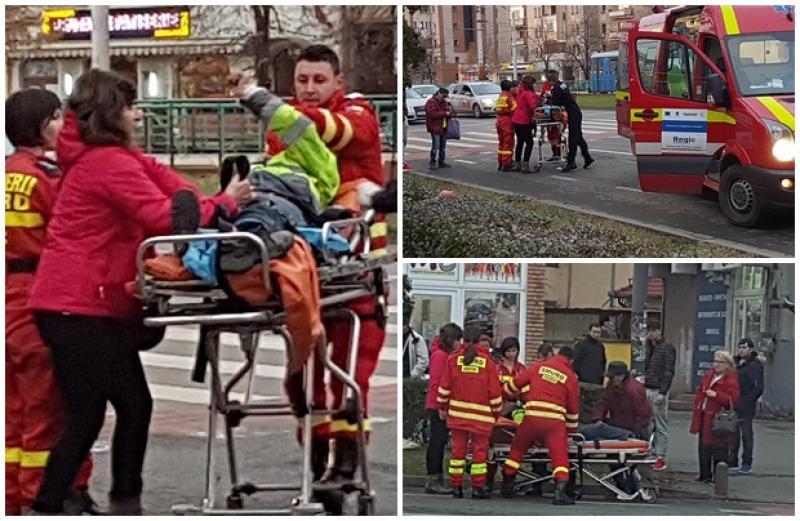 Bolnav de epilepsie căzut în plină stradă! Medicii SMURD au intervenit pentru a-i salva viaţa!