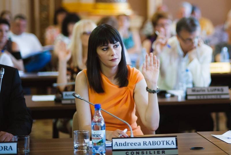 Isabela Rabotka face gestul firesc şi demisionează din Consiliul Local