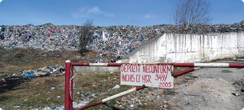 Depozitul pentru deşeuri inerte, în dezbatere publică