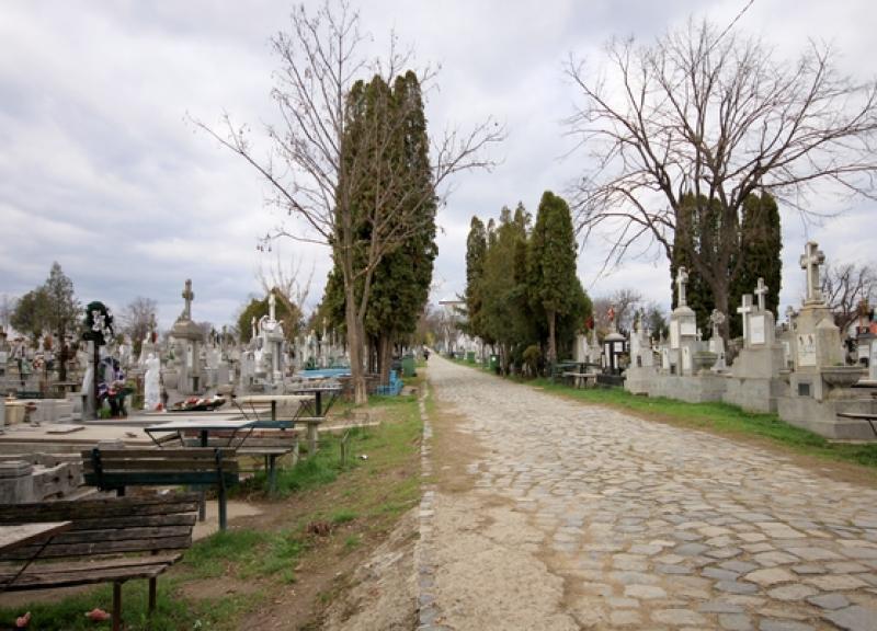 Un bărbat a fost găsit fără suflare pe o alee a cimitirului din Micalaca
