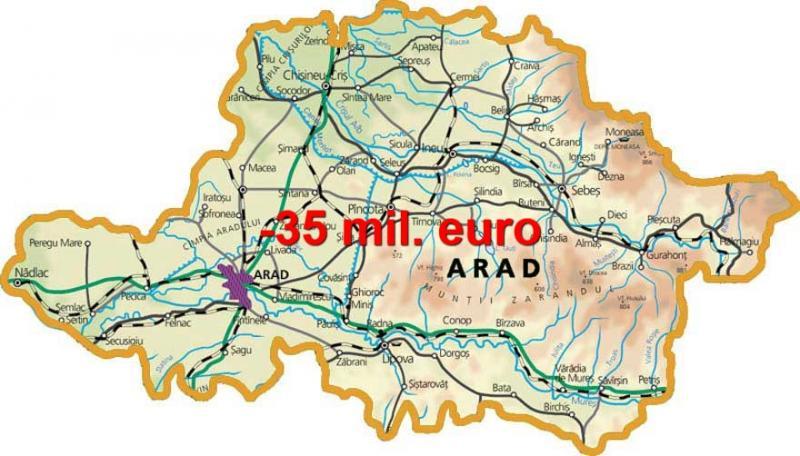 Noile prevederi fiscale vor vitregi judeţul Arad cu peste 35 milioane de euro în 2018