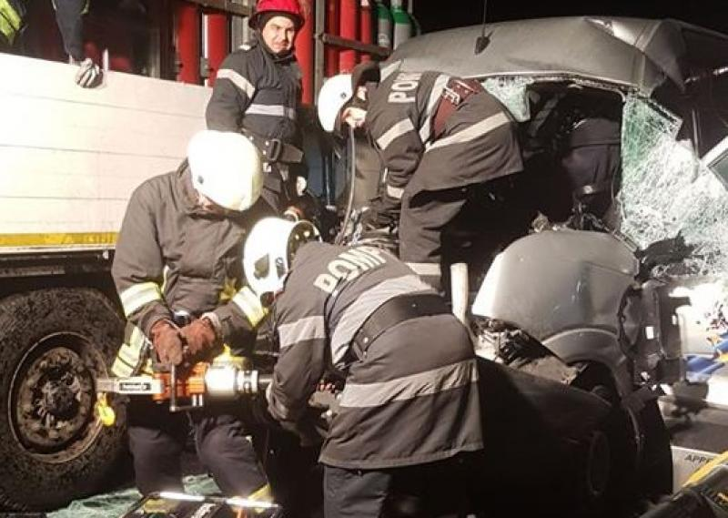 ACCIDENT rutier pe autostrada A1, în județul Timiș