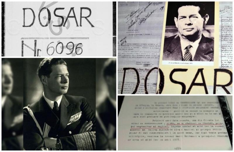 DOSAR 6096. Regele Mihai I, urmărit de securitate în exil, chiar şi după căderea regimului comunist