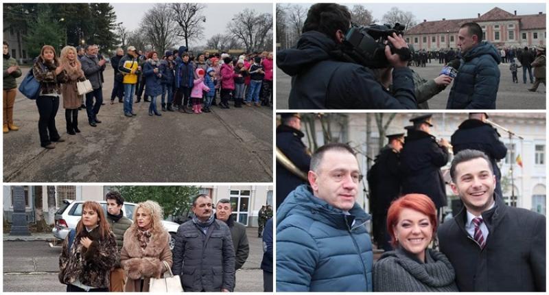 Profesorii şi elevii nu s-au lăsat încolonaţi de PSD: lume puţină la concertul organizat de Fifor în Cetatea Aradului!