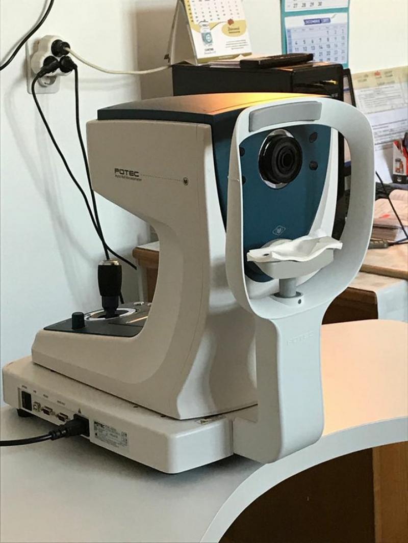 Spitalul Clinic Județean de Urgență Arad are acum un Biomicroscop performant,care este noua dotare a Compartimentului Oftamologie