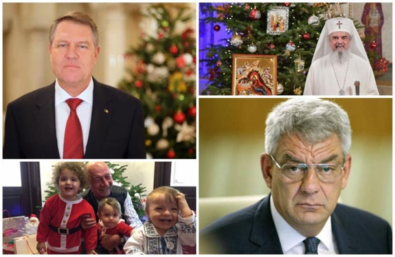 Află ce mesaje au transmis Preşedintele Klaus Iohannis, Primul Ministru Mihai Tudose, fostul Preşedinte, Traian Băsescu dar şi  Patriarhul Daniel, cu ocazia Crăciunului