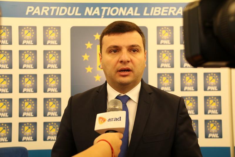 Bîlcea: PSD a stabilit prin lege că arădenii sunt cetățeni de mâna a doua!
