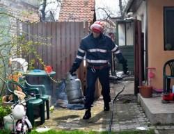 O femeie din Sebiș a ajuns la spital cu arsuri pe față și corp,în urma unei explozii