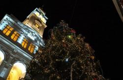 Spectacol marca Andreea Bălan, cu ocazia aprinderii luminiţelor din bradul de Crăciun