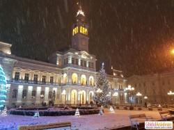 La Arad ninge ca în povești