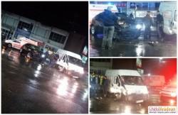 Grav accident rutier  produs la ieşirea din cartierul Micalaca. Coadă de maşini de un kilometru pe Calea Radnei!