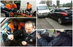 Accident rutier pe strada General Praporgescu. Şoferul vinovat, bănuit că ar fi consumat substanţe interzise