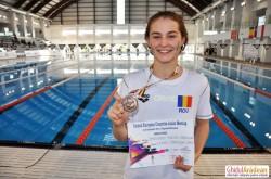 Arădeanca Alexia Bascarau, nou record personal, medaliat cu bronz în cadrul Campionatului Ţărilor Central Europene la Nataţie