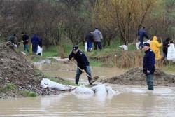Cod galben de inundații în şase judeţe din vestul ţării!