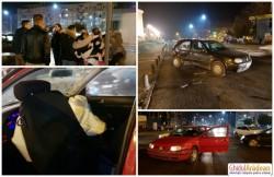 Accident rutier cu scandal şi fugă de la locul faptei, în intersecţia de la Podgoria!