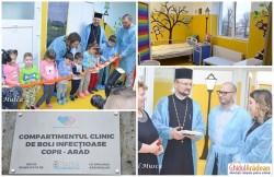"""""""Grădiniţa"""" de la Infecţioase Copii a fost inaugurată chiar de pacienţi!"""