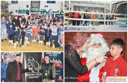Moş Crăciun a împărţit daruri viitorilor campioni ai Aradului