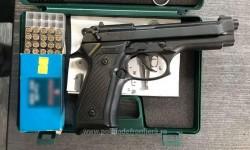 Armă de calibru 8 mm, descoperită de poliţiştii de frontieră, în vama Nădlac