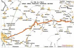 Modernizarea celui mai important drum judeţean arădean, Arad-Şiria-Pâncota-Buteni intră în linie dreaptă