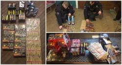 Peste 2500 de petarde confiscate de Jandarmii arădeni