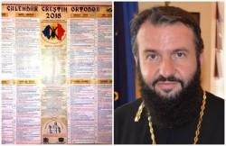 Preasfințitul Părinte Lucian Mic, arădeanul care a pus harta României  MARI, pe Calendarul  Creştin Ortodox 2018